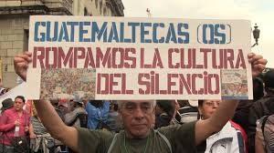 guatemala silencio