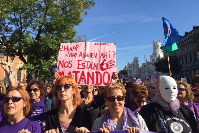 La radiografía del feminicidio en Euskadi y Navarra