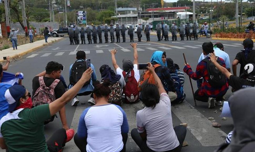 De la protesta estudiantil universitaria al estallido social en Nicaragua