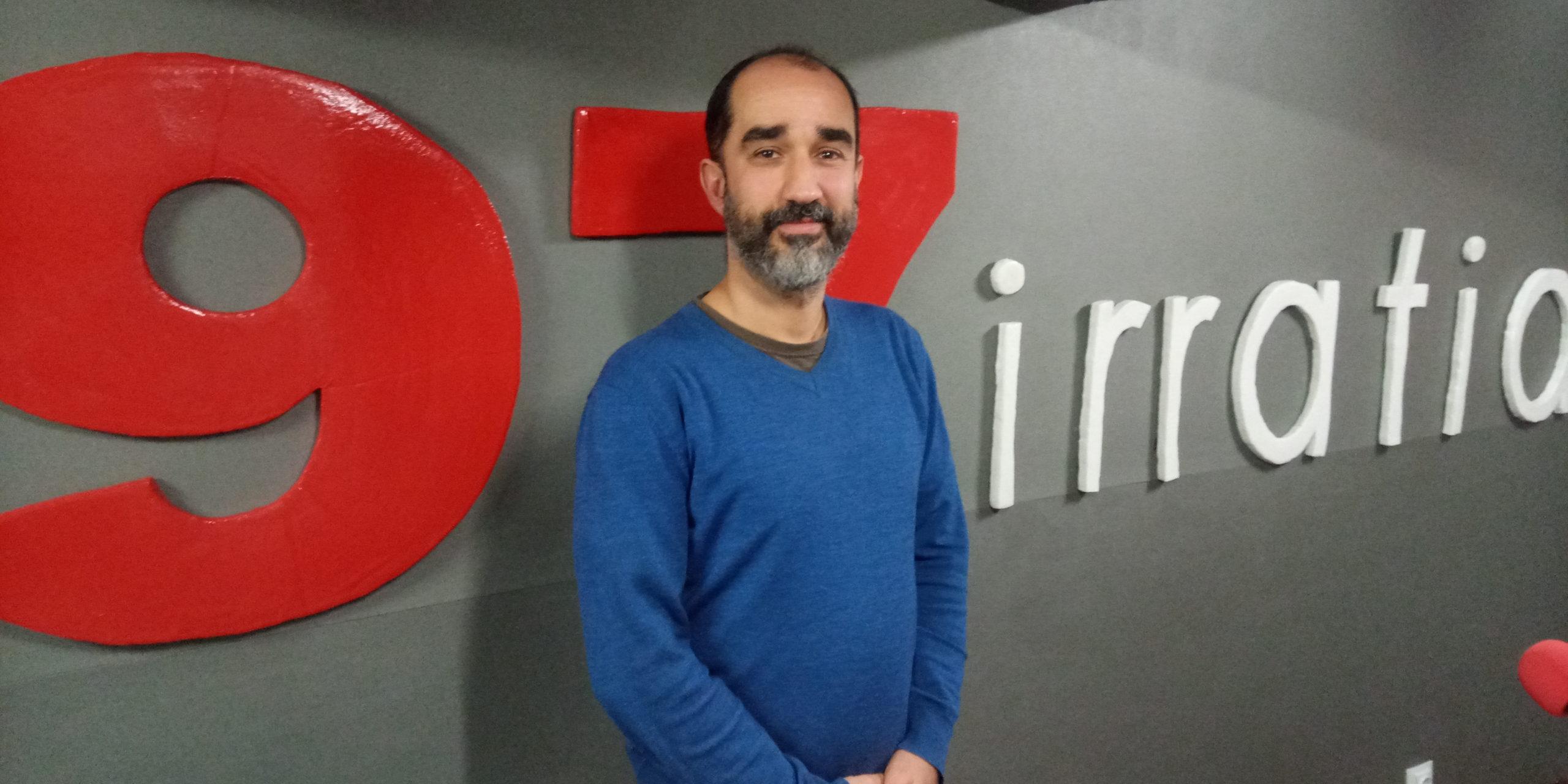 El cantautor bilbaíno Borja Intentándolo y sus cálidas canciones