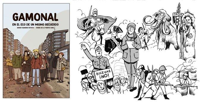 Una novela gráfica recoge la historia y memoria de Gamonal y su movimiento vecinal